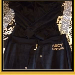 Juicy Couture Hoodie and Capri Set